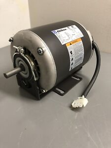 New Electric Motor 1 3hp 115vac 1725rpm 1 ph 60hz 48y Frame Odp skid