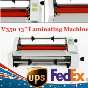 Electronic Single dual Sided Hot cold Roll Laminating Machine Digital Display Us