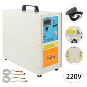 Ht 15a 220v 15 Kw High Frequency Induction Heater Furnace 2200 30 100 Khz