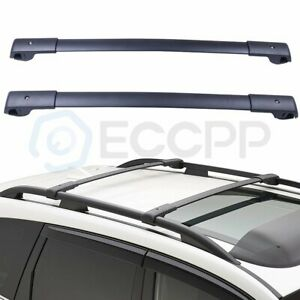 Fit For 2018 Subaru Forester Oe Style Aero Cross Bars Top Roof Rack Luggage