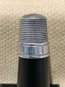 Vintage Sterling Silver Simons Brothers Thimble Size 11