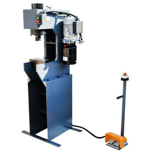 C frame 25 Ton Hydraulic Press 7 7 8 Stroke 110 Volt Motor 3hp 3 360 Rpm