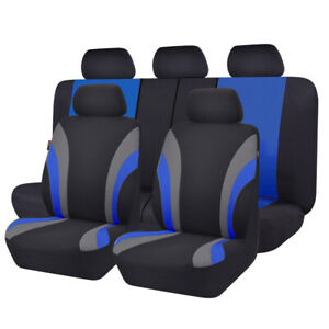 Carpass 11pcs New Washable 7 Colors Universal Car Seat Cover Set For 40 60 60 40