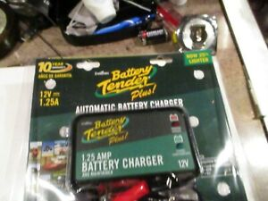 Battery Tender Plus 12v Motorcycle Car Truck Battery Charger New Open Box