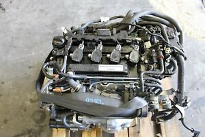 2018 Honda Civic Si Coupe 1 5l Turbo Oem Complete Engine Longlock 9282