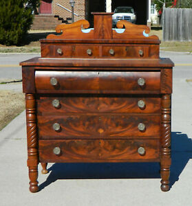 Mahogany Chimney Back Chest