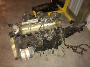 Complete Triumph Gt6 Tr6 Tr250 Engine Transmission And Rolling Chassis Kd51669e