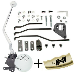 Hurst Comp Plus 4 Speed Shifter Kit 1970 Mustang 390 428 Top Loader Type 434