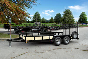 New Gator 16 Ft Landscape Utility Trailer