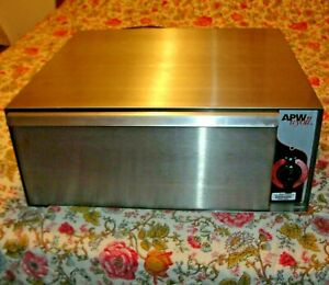Apw Wyott Bw 31 Commercial 1 Drawer Food Warmer Cabinet Holds 72 Hot Dog Buns
