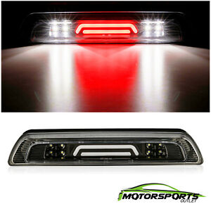 2007 2018 Toyota Tundra Black 3rd Third Brake Light 3d Led Cargo Tail Lamp