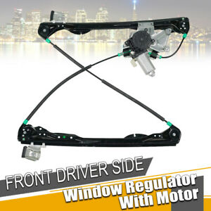 New Front Left Drivers Side Power Window Regulator W motor Fit 00 07 Ford Focus