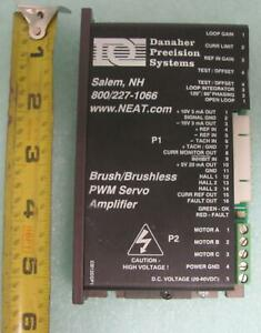 Danaher Precision Brush brushless Pwm Servo Amplifier T7117