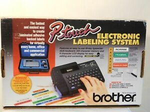 Brother p touch Electronic Labeling System W Deluxe Case Model Pt 15