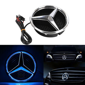 Front Grille Star Emblem Logo For Mercedes Benz 2006 2013 Illuminated Led Light