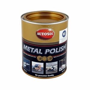 Autosol Chrome Polish Aluminium Metal Polish 750ml