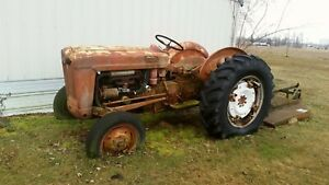 1950s Ford Tractor With Mower