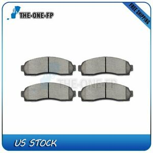 Front Ceramic Discs Brake Pads For 2003 2011 Ford Ranger 2005 2006 Chevy Equinox