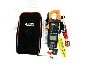 Klein Tools Cl700 600a Ac Auto Ranging Digital Clamp Multimeter