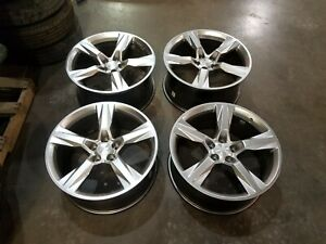 20 Chevy 16 17 18 Camaro Ss Oem Staggered Wheels Rims Oe 2016 2017 2018