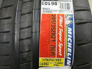 Michelin Pilot Super Sport 245 35zr21 96y To Tesla Acoustic Tech