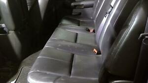 2011 Chevrolet Silverado 3500 Leather Rear Bench Seat Complete Trim Code 193