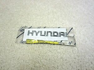 2001 2005 Hyundai Elantra Gt Oem Rear Trunk Emblem Badge 8630 2d000 69 6n