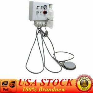 Dental Wall Hanging Turbine Unit Work With Compressor Plastic Shell 4 Holes Usa