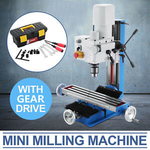 Mini Milling Drilling Machine With Gear Drive 250mm 9 84 Vertical High Quality