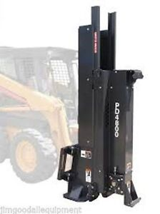 Post Driver For Skid Steer Loaders bradco Complete Package For Fence Co
