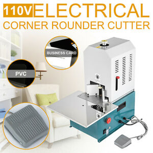 110v Electric Round Corner Cutter Corner Rounding Machine Business Card Paper