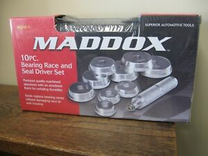 New Maddox 10 Piece Bearing Race And Seal Driver Set Md10 1