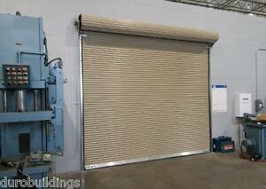 Duro Steel Janus 12 Wide By 12 Tall 1950 Series Insulated Roll up Door Direct