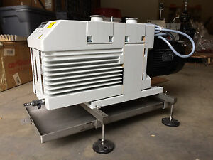 Leybold D65b Trivac Oerlikon Vacuum Pump Tested And Fully Functionl 15 Microns