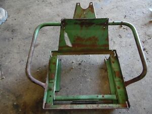 John Deere 2010 Tractor Seat Frame Tag 572