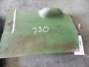 John Deere 730 Diesel Tractor Pony Start Gas Tank Shield Tag 477