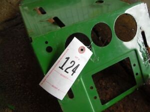 John Deere 970 Compact Tractor Dash Cover Tag 124