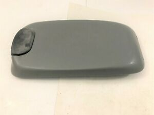 00 05 Ford F250 Center Console Cover Lid Armrest Arm Rest Gray