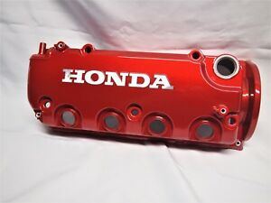 Powder Coated D16y7 And D16y8 Vtec Valve Cover Honda Civic Ex Candy Red