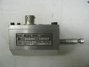Gse Socket Wrench Torque Transducer 100 In Lbs Gse11