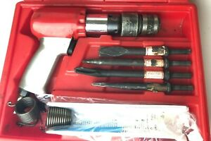Snap On Tools Ph2050 Air Hammer Chisels Set Quick Chuck Pneumatic Kit Case