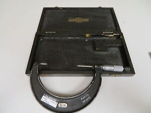 Moore Wright 75 100mm metric Point Micrometer Fs22