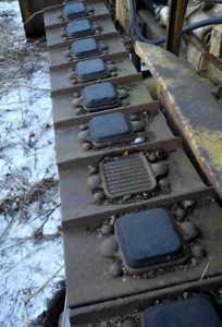 Set Of Original Street Tracks pads For Cletrac To Oliver Hg And Oc 3 Crawlers