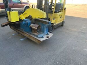 24 Canton Alligator Shear Great For Scrap Metal Cutting Recycling 230 Volt