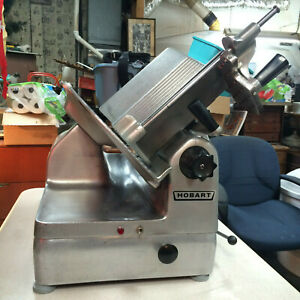 Hobart 1712 Automatic Two speed Cheese Meat Deli Slicer Ex Cond Runs Perfectly