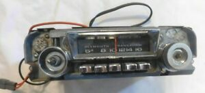 Plymouth Mopar Trans Audio Model 230 Am Radio Belvedere Satellite Gtx