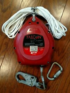 Miller Falcon Mp30g z7 30ft Self retracting Lifeline Used