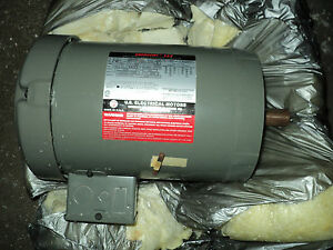 Usem 3n512 Motor 1 Hp 1145 Rpm 3 Ph 208 230 460 V 145tc Fr g Purpose