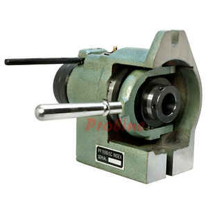 Vertical Horizontal 5c Collet Spin Index Fixture Milling 0004 Spindle Thread