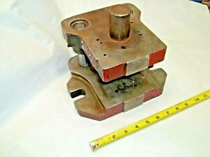 Punch Press Commercial Die Set Shoe Two 1 Diam Posts 1 1 2 Diam Shank